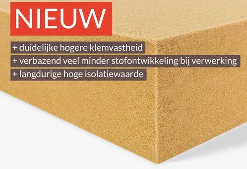 Nieuwe Gutex Thermoflex Houtvezel isolatie